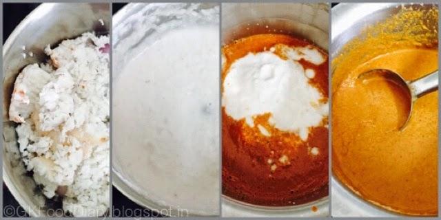 South Indian Fish Curry Recipe (Vanjaram Meen Kuzhambu) 4
