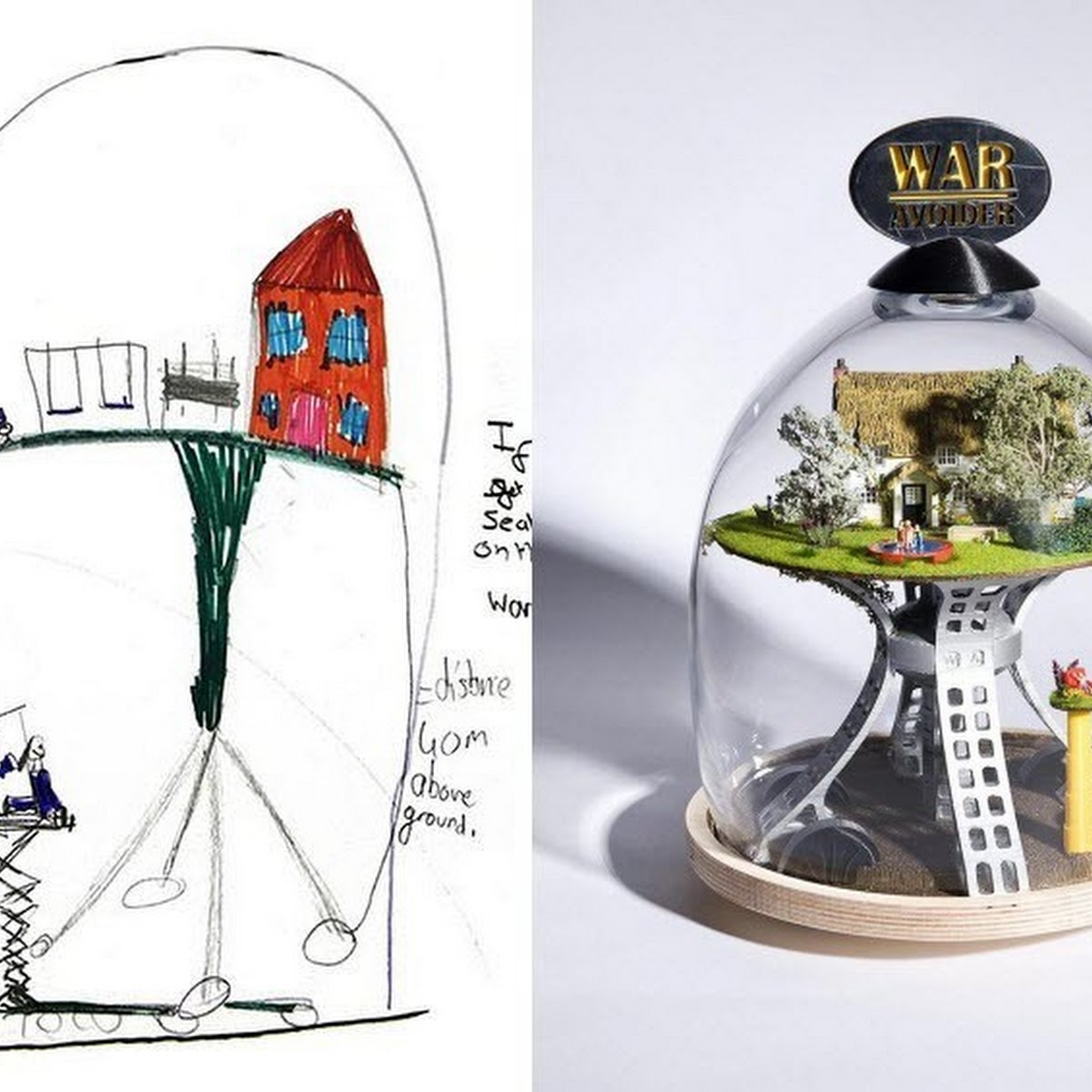 Dominic Wilcox Turns Kids' Crazy Inventions Into Real Products