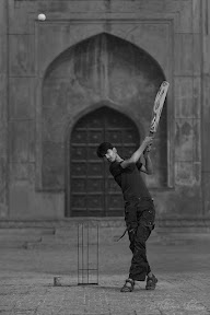 Cricket in streets of lahore