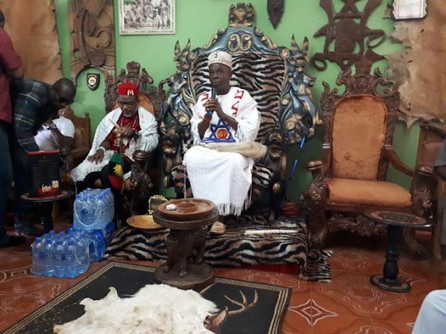 Nnamdi Kanu Visits Aguleri, The Cradle Of Igbo Race ( Watch The Videos )
