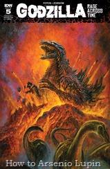 Actualización 14/12/2016: El maestro de los monstruos E. P. Green nos trae los numero 4 y 5 de Godzilla: Rage Across Time finalizando así otra serie del monstruo verde en el blog.