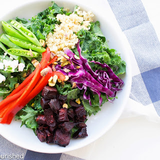Roasted Beet & Kale Salad