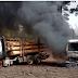 ARAUCANÍA: Violento atentado incendiario se registro en sector La Colonia - Lautaro, un delincuente detenido