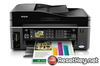 Reset Epson WorkForce 610 printer Waste Ink Pads Counter