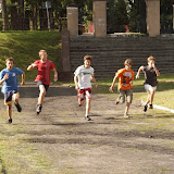 Sprinty na 100 m. Rekord Skępego to 13,4s