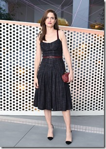 Amanda Peet, (wearing Bottega Veneta)