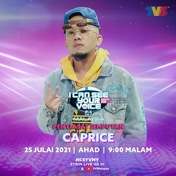 LIVE I Can See Your Voice Malaysia 4 Minggu 11 (25.7.2021)