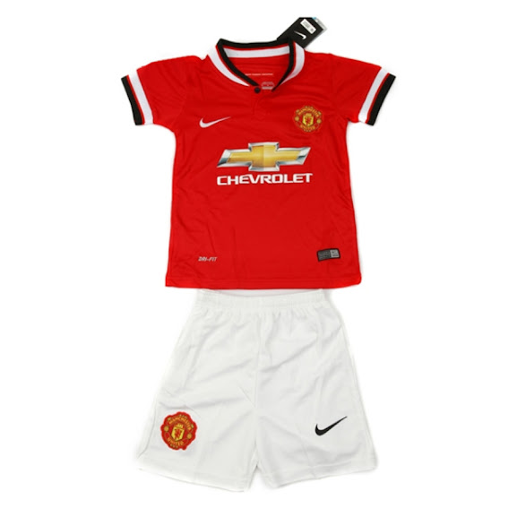 Jersey Kids Manchester United Home 2014-2015