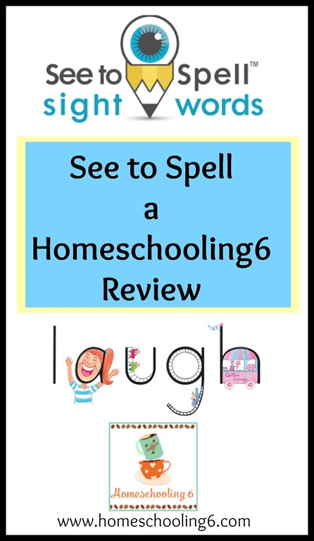 See to Spell a Homeschooling6 Review