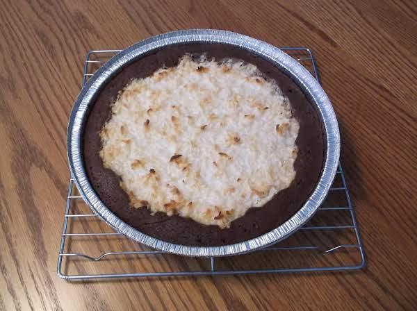 Chocolate Coconut Pie Recipe