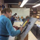 Schilderen Hobbysoos A12 - Foto's Martje Ritzema