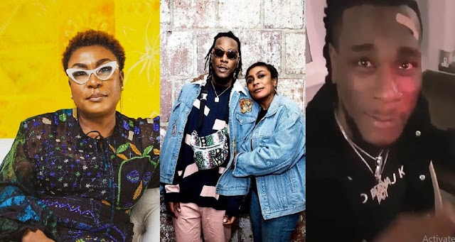Burna Boy Allegedly Pushed And Almost Beat His Mom Because Of Drug Abuse [Photos]