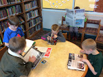 Caught Reading at Gilles-Sweet: Right to Read Week 2015 (Grade 2)