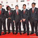 OIC - ENTSIMAGES.COM - Nick Easter, Marland Yarde, Alex Goode, Danny Cipriani and Billy Vunipola at the  Carry Them Home - rugby dinner (Suits provide by Eden Park) at the Grosvenor House London 5th August 2015 Photo Mobis Photos/OIC 0203 174 1069