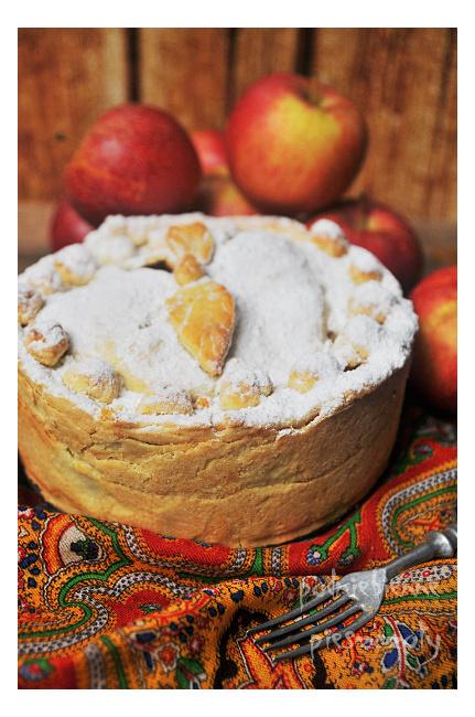 Apple pie z przyprawą korzenną