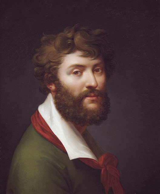Jean-Baptiste Regnault - Self portrait