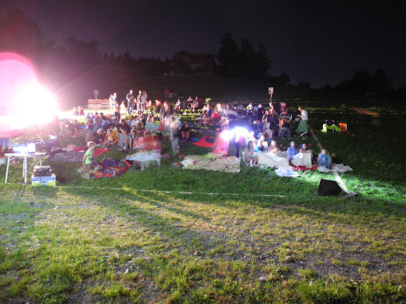 Fotos vom Open-Air-Kino, 28. August 2015