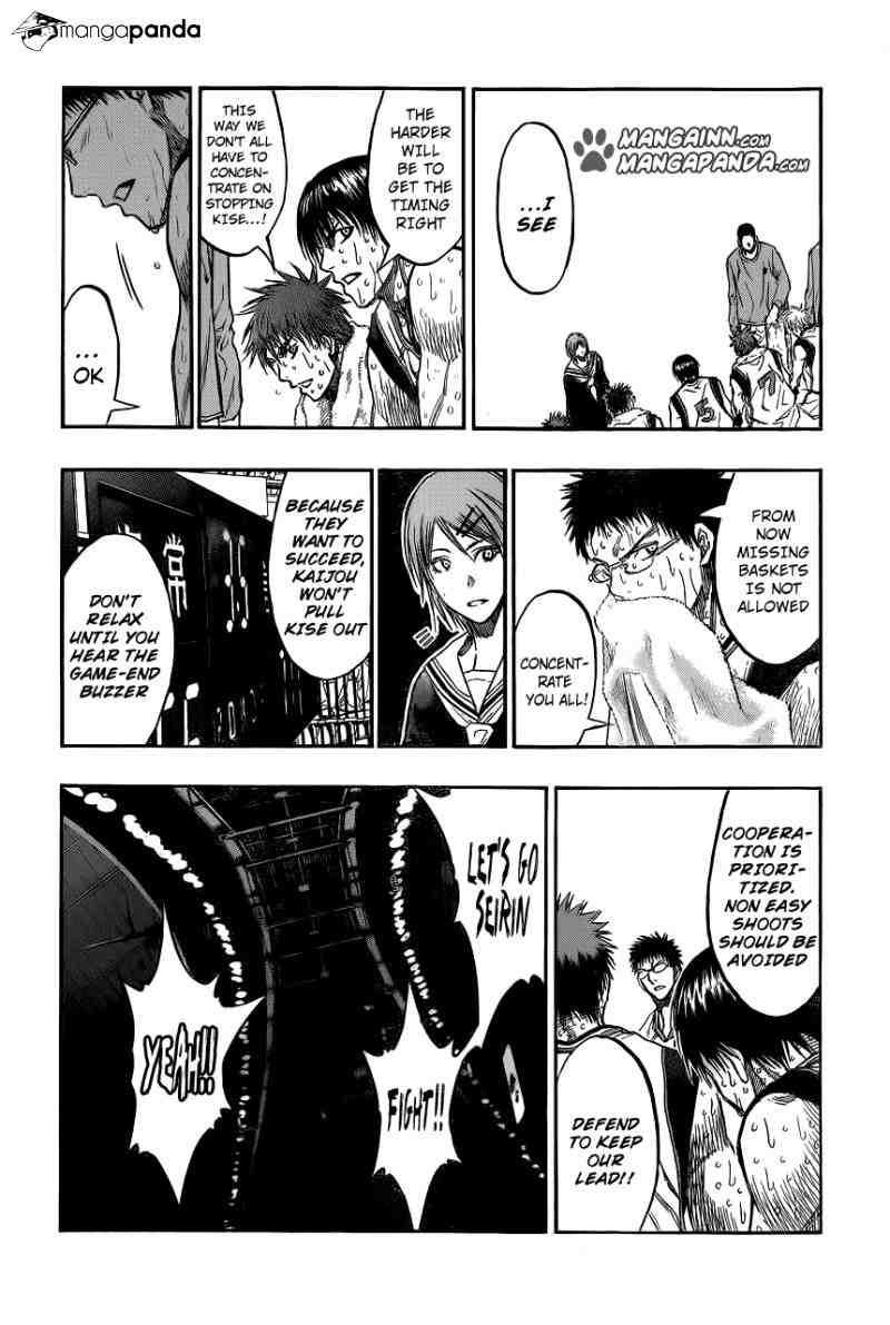 Kuroko no Basket Manga Chapter 197 - Image 04