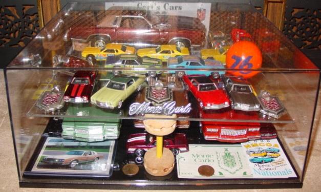 My dealer promo models & display cases ModelCars_DisplayCase_AddShelf_MCs