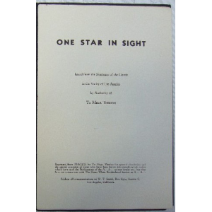 One Star In Sight Image