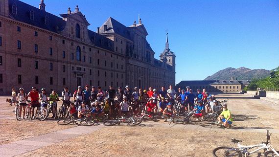 Unas fotos de nuestra ruta de El Escorial a Madrid - Junio 2013