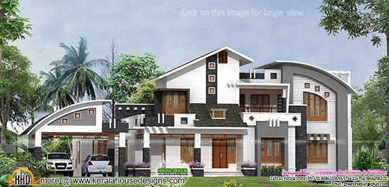 Twin house plan