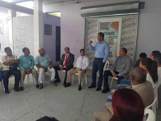 Domingo Contreras asegura las iglesias serán sus aliadas para la ejecución de sus programas sociales