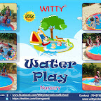 Water Play Activity by Nursery section,( 2018-19 )Witty World, Goregaon East