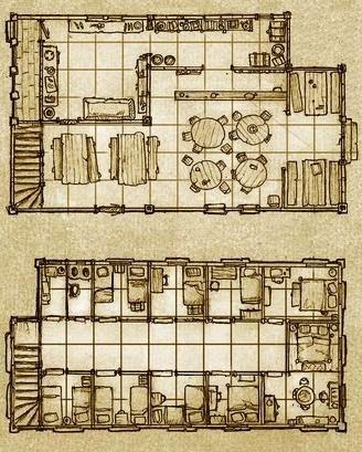 La Casa de Tera (Ciudad de Röx) PlanoTera