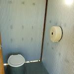 Toilet at Melaleuca camping ground