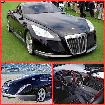 (5). Mercedes Benz Maybach Exelero — $8 million