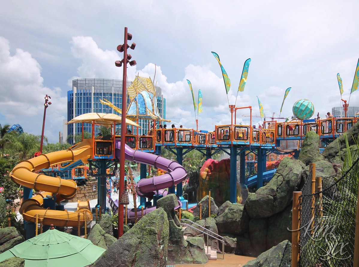 Kids area at Volcano bay