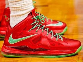 timeline 121225 shoe lebron10 christmas 2012 13 Timeline