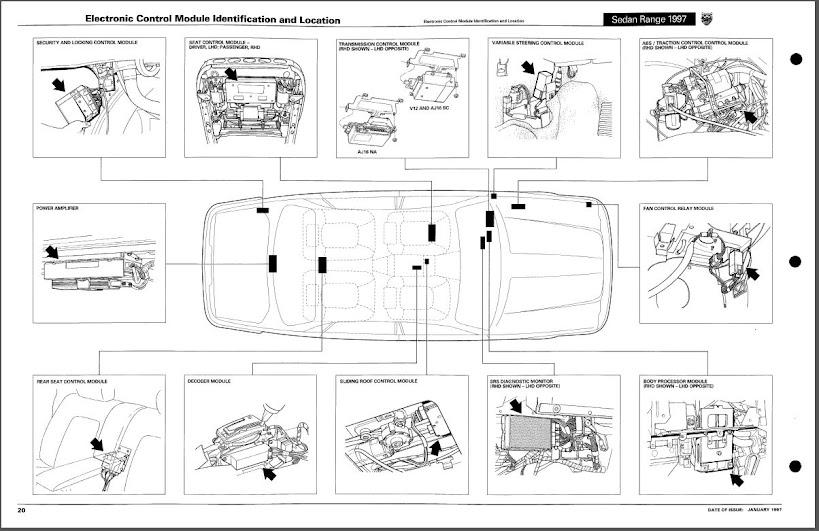 Wiring Diagrams For 1996 Jaguar Xj6 : Jaguar xj fuel pump fuse location