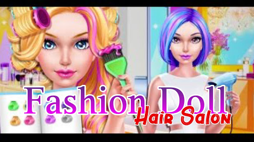 Fashion Doll - Hair Salon APK sem an�ncios, no ads