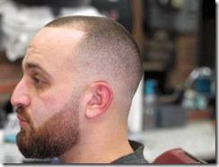 Mid skin fade cut for men