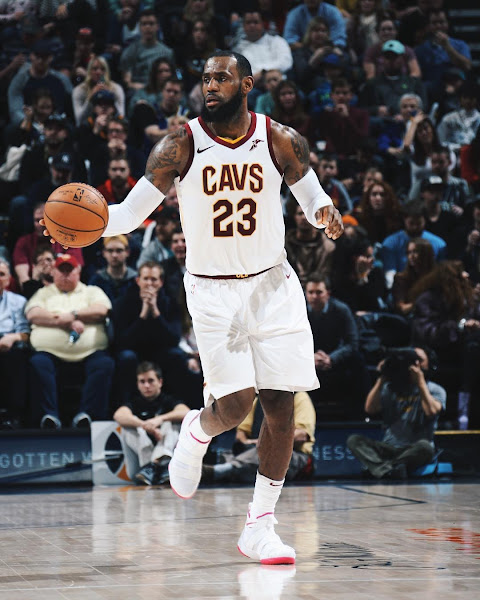 new products a32be d1275 King James Rocks 'Kay Yow' Nike LeBron Soldier 11 on 33rd ...