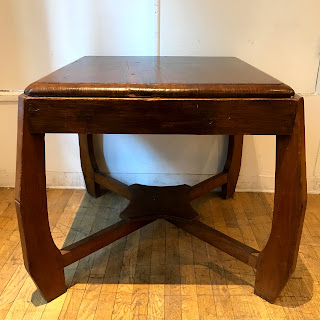 Rough-Hewn Wood Table