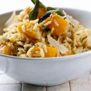 Creamy Pumpkin Mascarpone and Sage Tilda Wholegrain Basmati Rice