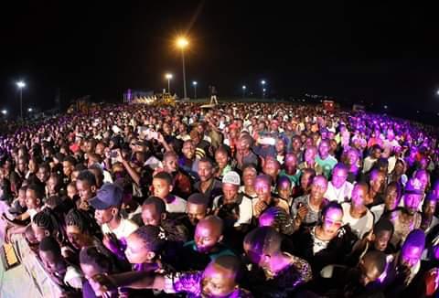 New year celebrations at Kibarani recreational park, Mombasa. PHOTO   BMS