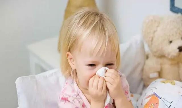 علاج نزلات البرد والانفلونزا عند الأطفال