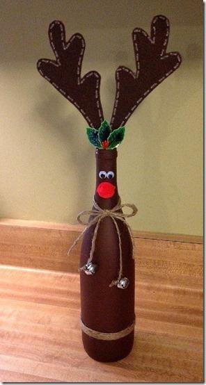 decorar botellas navidad todonavidad info (27)