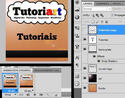 Frame 2: desligue a visibilidade do texto com blur, mantendo o texto original