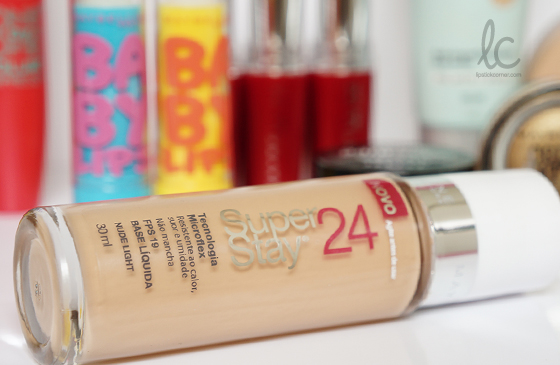 Testei: Base Maybelline SuperStay 24HR