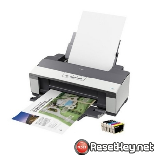 Epson B1110 Waste Ink Counter Reset Key
