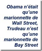 Trudeau marionnette