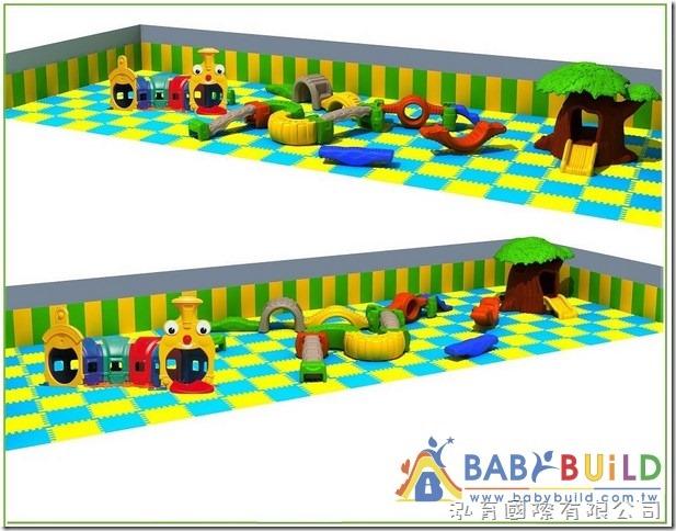 BabyBuild 兒童遊戲設備規劃示意圖