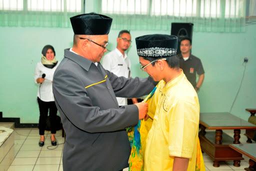 Adjo Sardjono Lepas Kontingen Kabupaten Sukabumi di MTQ ke-35 Tingkat Jabar