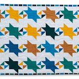 ICI, UNE ÂME ... - Nelly Lanoue - Piécé machine et quilté main - Reproduction d'une mosaïque de la Salle du Mexuar - Palais de L'Alhambra de Grenade - Espagne