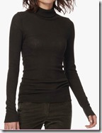 Brora Slim Thermal Polo Neck Top